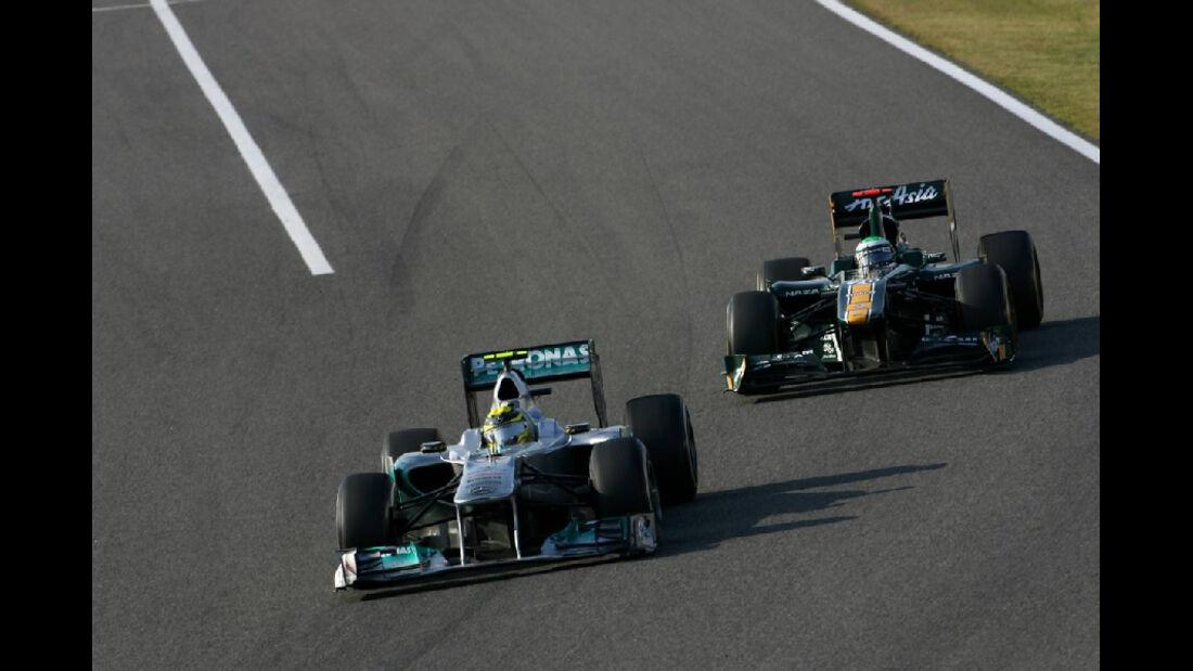 Nico Rosberg  - Formel 1 - GP Japan - 9. Oktober 2011
