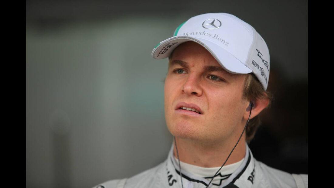 Nico Rosberg - Formel 1 - GP Korea - 14. Oktober 2011