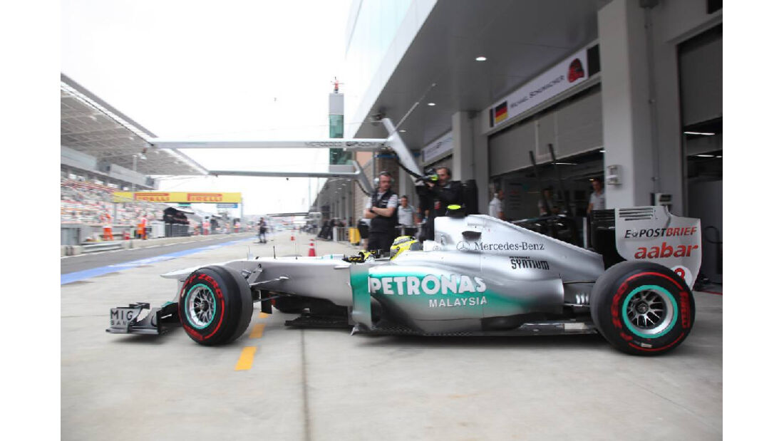 Nico Rosberg  - Formel 1 - GP Korea - 15. Oktober 2011