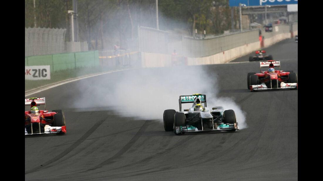 Nico Rosberg - Formel 1 - GP Korea - 16. Oktober 2011