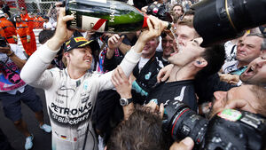 Nico Rosberg - Formel 1 - GP Monaco - 24. Mai 2015