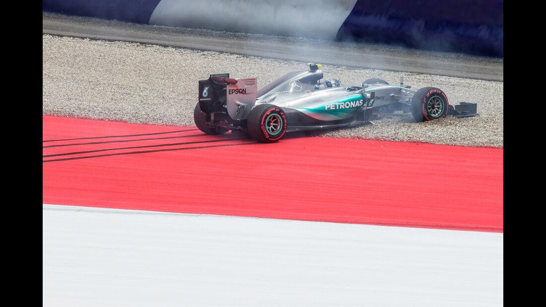 Nico Rosberg - Formel 1 - GP Österreich 2015 - Danis Bilderkiste