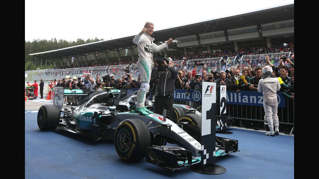 Nico Rosberg - Formel 1 - GP Österreich 2015