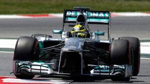 Nico Rosberg -  Formel 1 - GP Spanien
