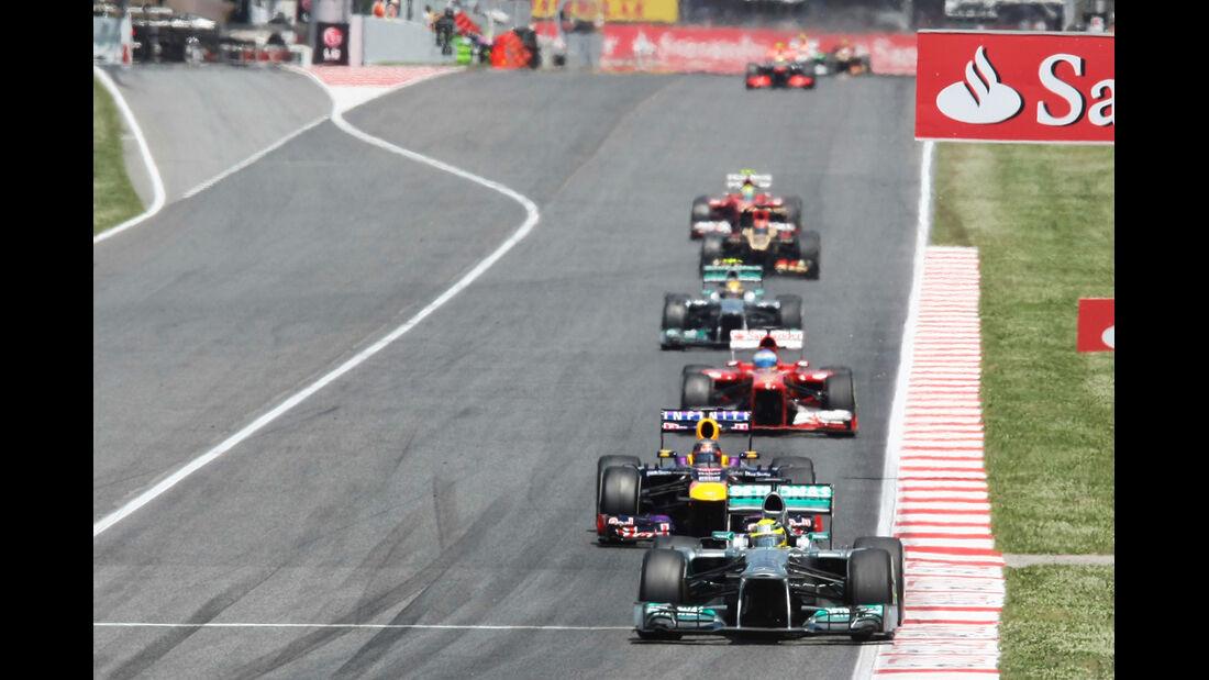 Nico Rosberg - Formel 1 - GP Spanien 2013
