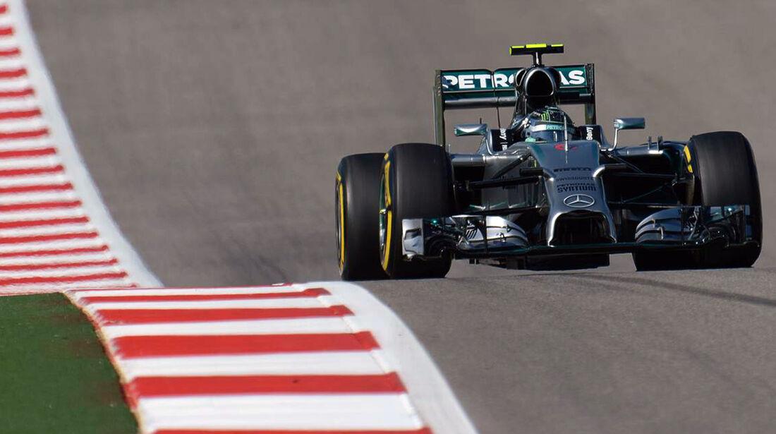 Nico Rosberg - Formel 1 - GP USA - 1. November 2014