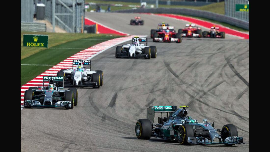 Nico Rosberg - Formel 1 - GP USA - 2. November 2014