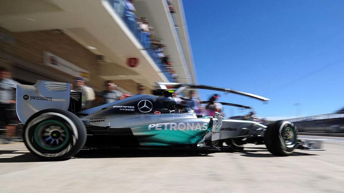 Nico Rosberg  - Formel 1 - GP USA - 31. Oktober 2014