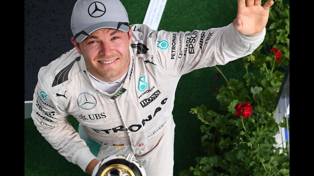 Nico Rosberg - Formel 1 - GP Ungarn 2016