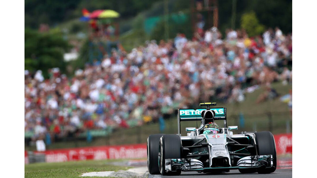 Nico Rosberg - Formel 1 - GP Ungarn - 26. Juli 2014
