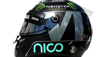 Nico Rosberg - Formel 1 - Helm - 2016