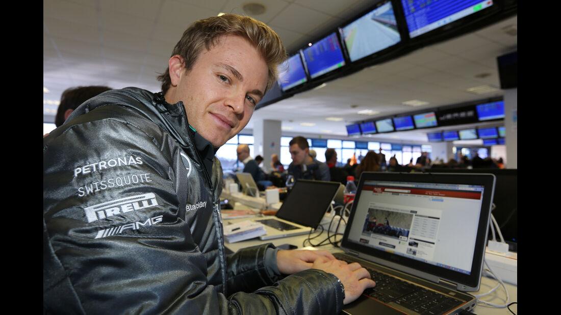 Nico Rosberg - Formel 1-Live-Ticker 2014