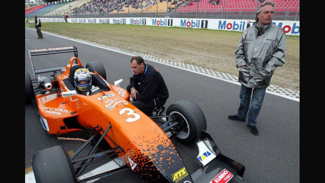 Nico Rosberg Formel 3 2003