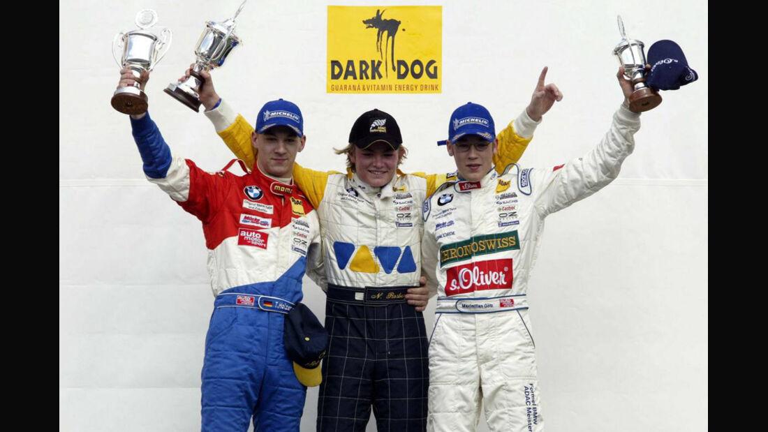 Nico Rosberg Formel BMW 2002
