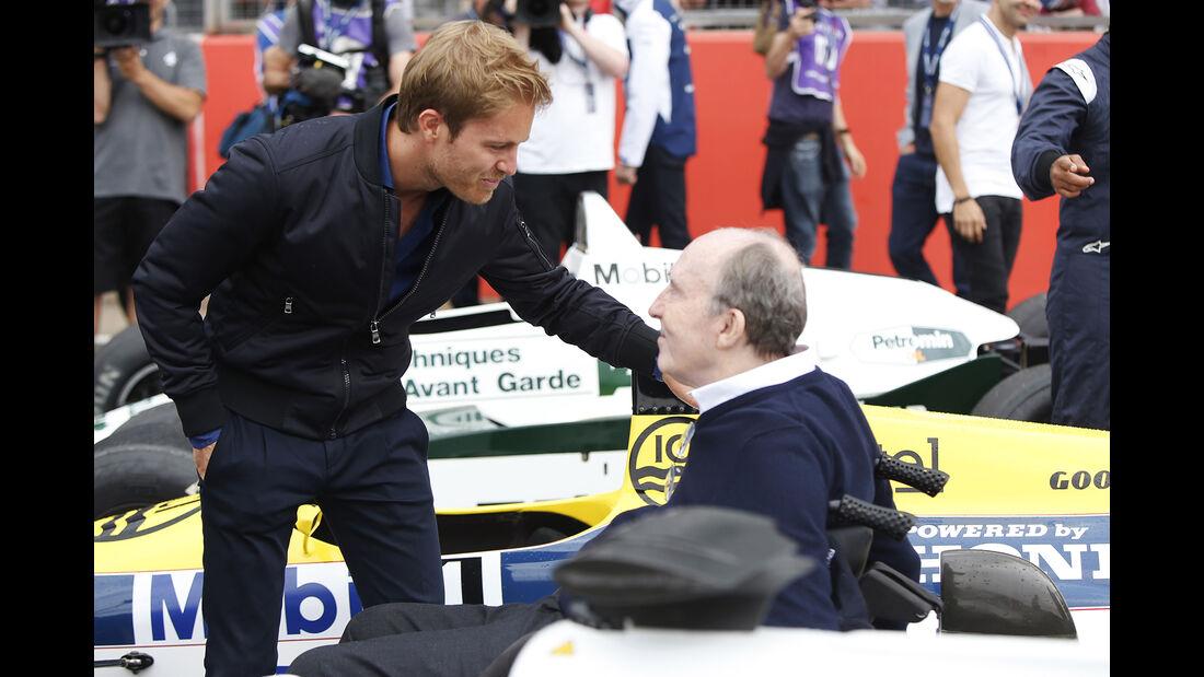 Nico Rosberg & Frank Williams - Williams-Jubiläum - Silverstone - 2017