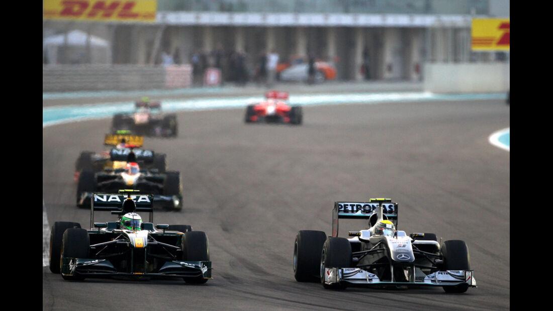 Nico Rosberg GP Abu Dhabi 2010