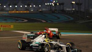 Nico Rosberg GP Abu Dhabi 2012
