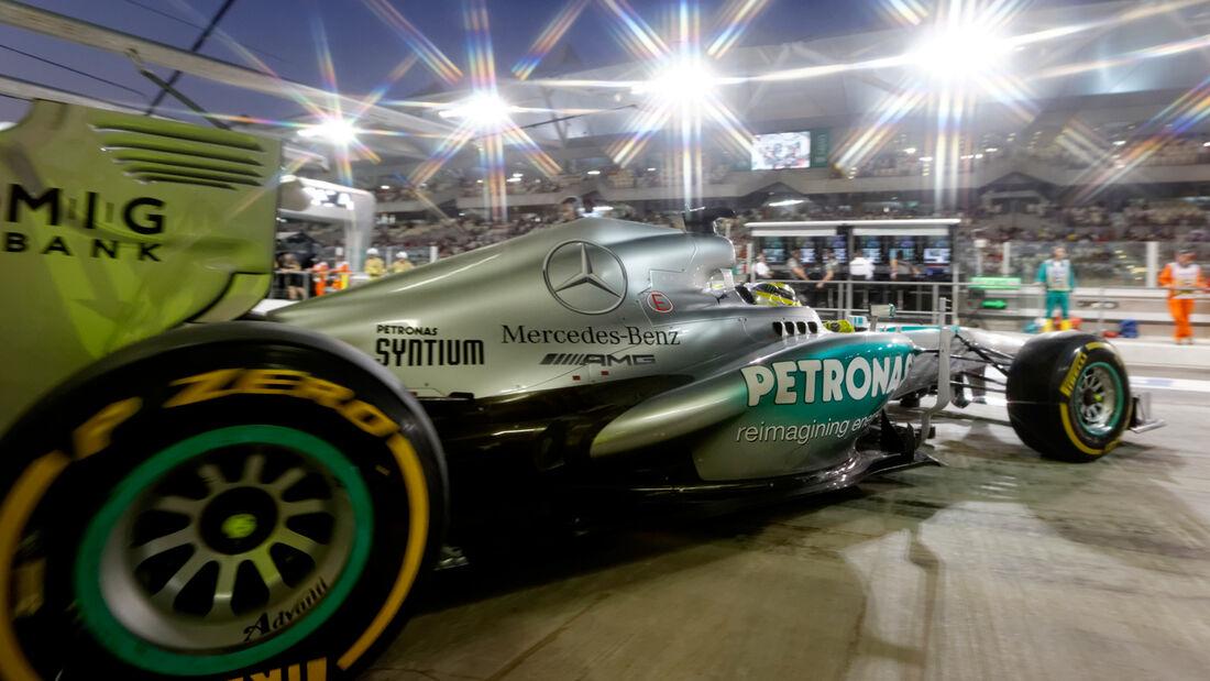 Nico Rosberg - GP Abu Dhabi 2013