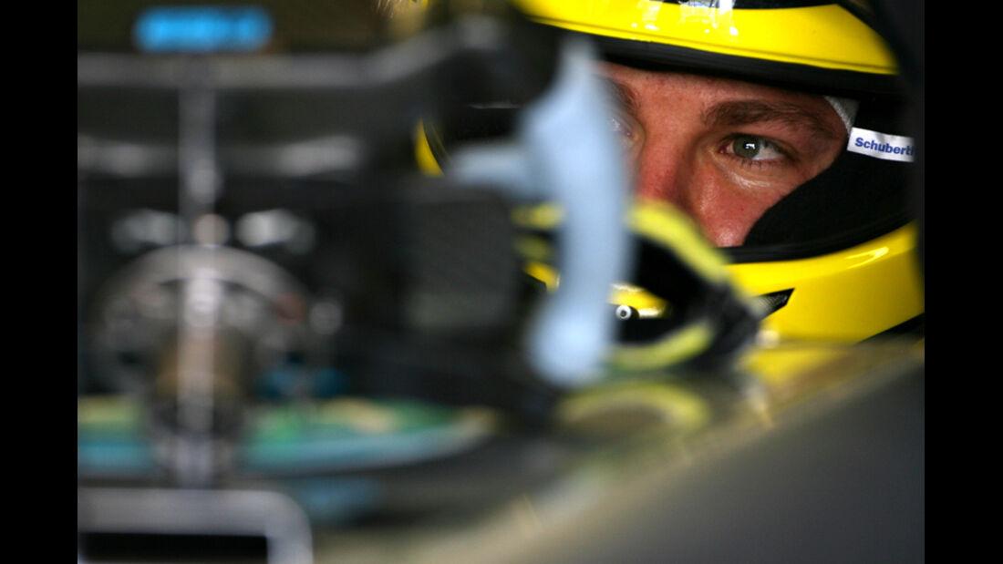 Nico Rosberg - GP Abu Dhabi - Freies Training - 11. November 2011