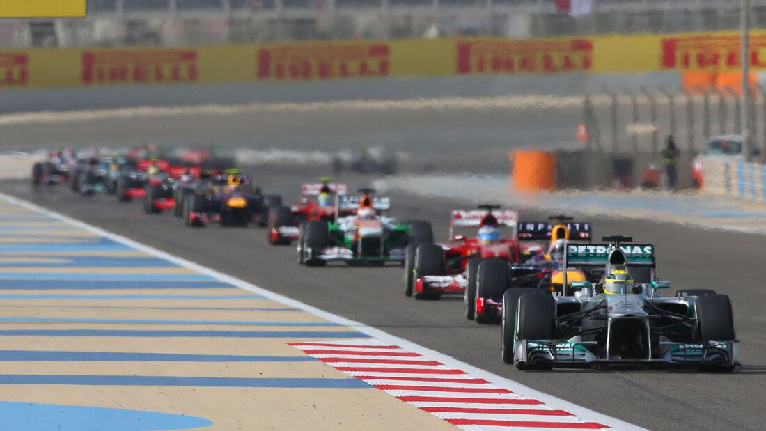 Nico Rosberg - GP Bahrain 2013