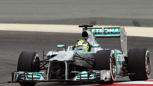 Nico Rosberg GP Bahrain 2013 Pole