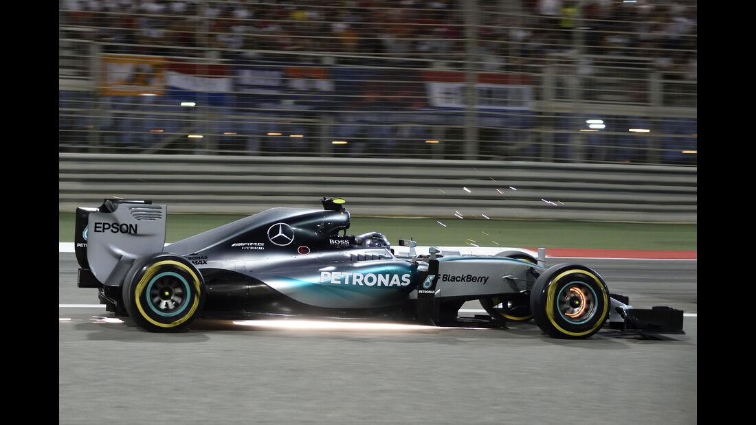 Nico Rosberg - GP Bahrain 2015