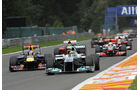 Nico Rosberg GP Belgien 2011