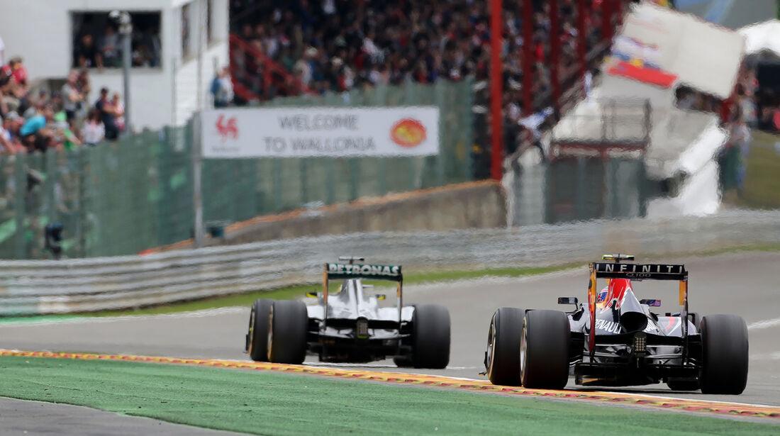 Nico Rosberg - GP Belgien 2013