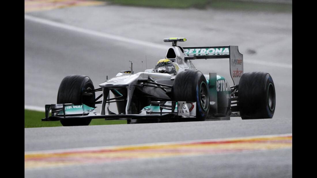 Nico Rosberg - GP Belgien - Qualifying - 27.8.2011