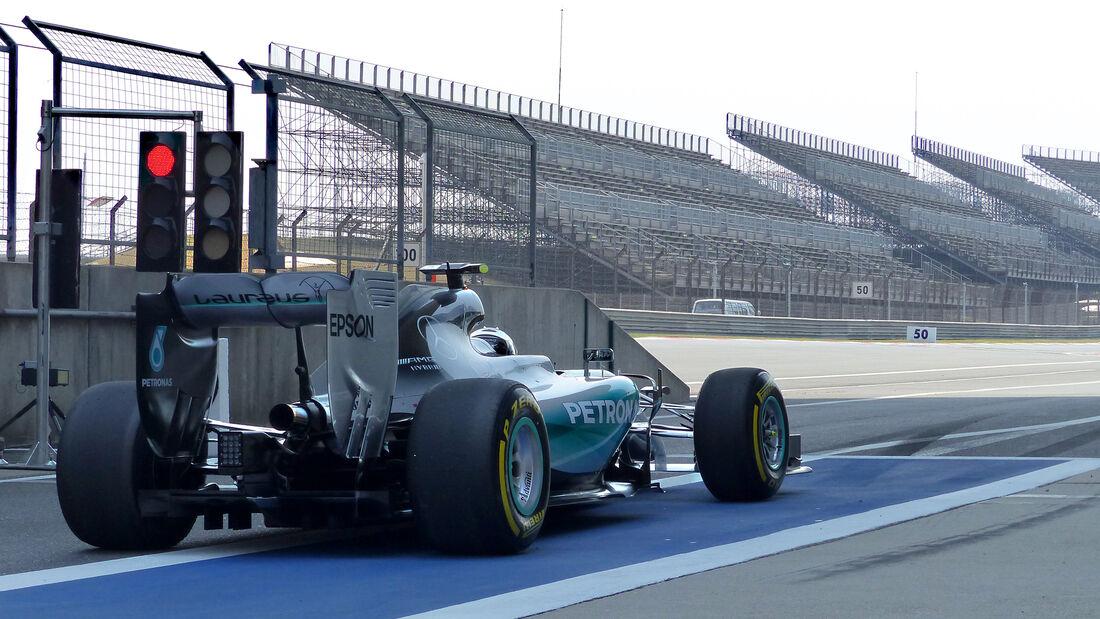 Nico Rosberg - GP China 2015