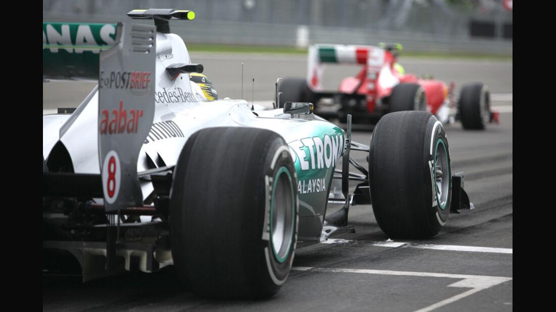 Nico Rosberg GP Deutschland 2011 Noten