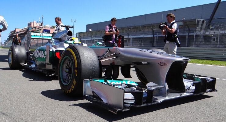 Nico Rosberg GP Deutschland 2013