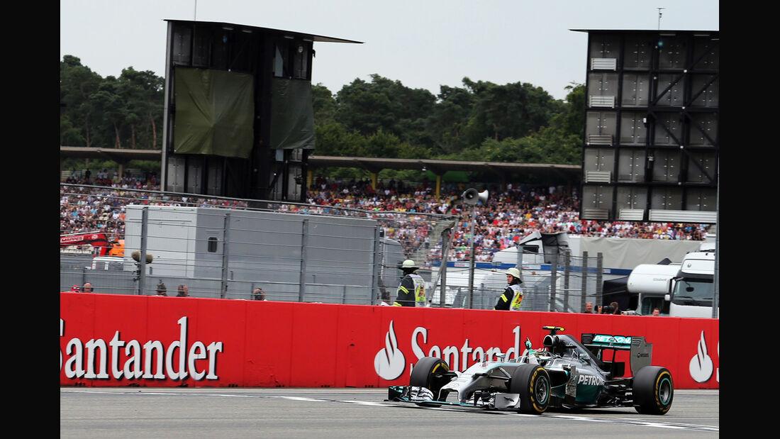 Nico Rosberg - GP Deutschland 2014