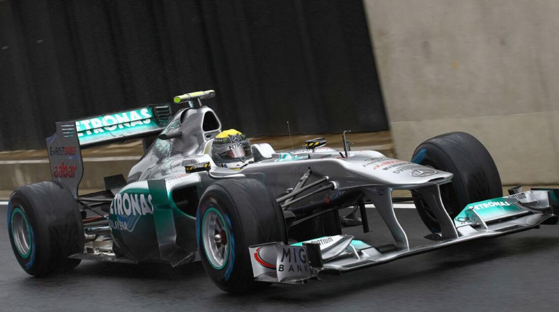 Nico Rosberg GP England 2011