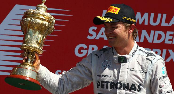 Nico Rosberg GP England 2013