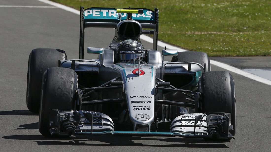 Nico Rosberg - GP England 2016