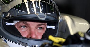 Nico Rosberg - GP England - Training - Silverstone - 8. Juli 2011
