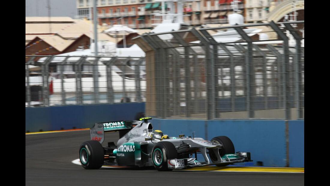 Nico Rosberg - GP Europa Valencia 2011