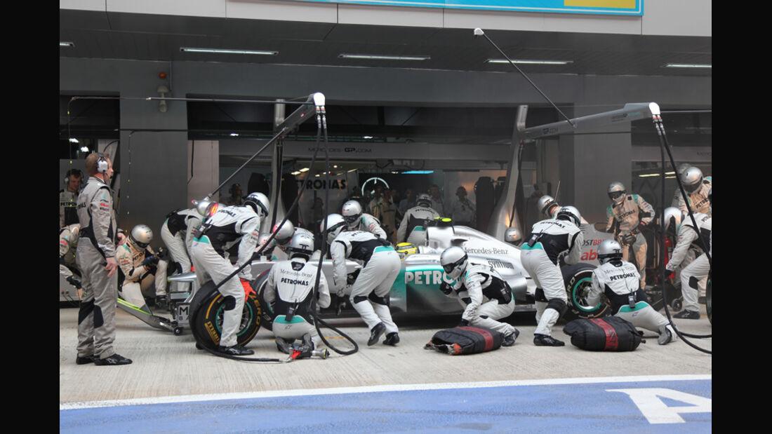 Nico Rosberg GP Indien 2011