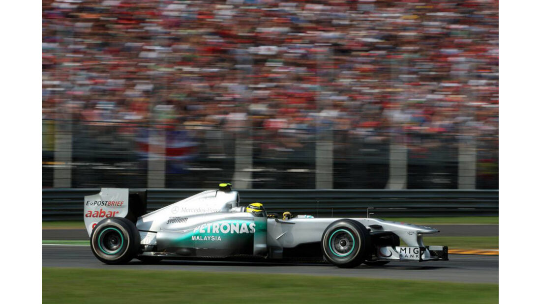 Nico Rosberg - GP Italien - Monza - 10. September 2011