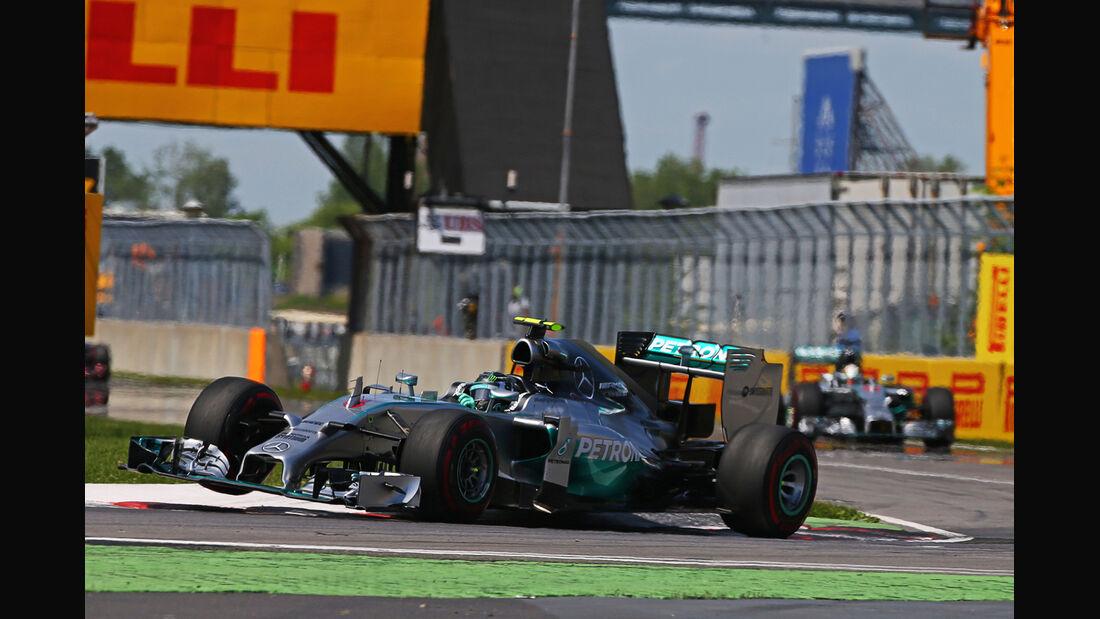 Nico Rosberg - GP Kanada 2014