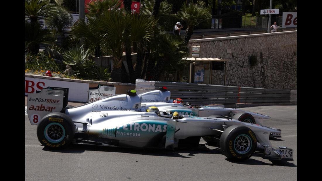 Nico Rosberg GP Monaco 2011