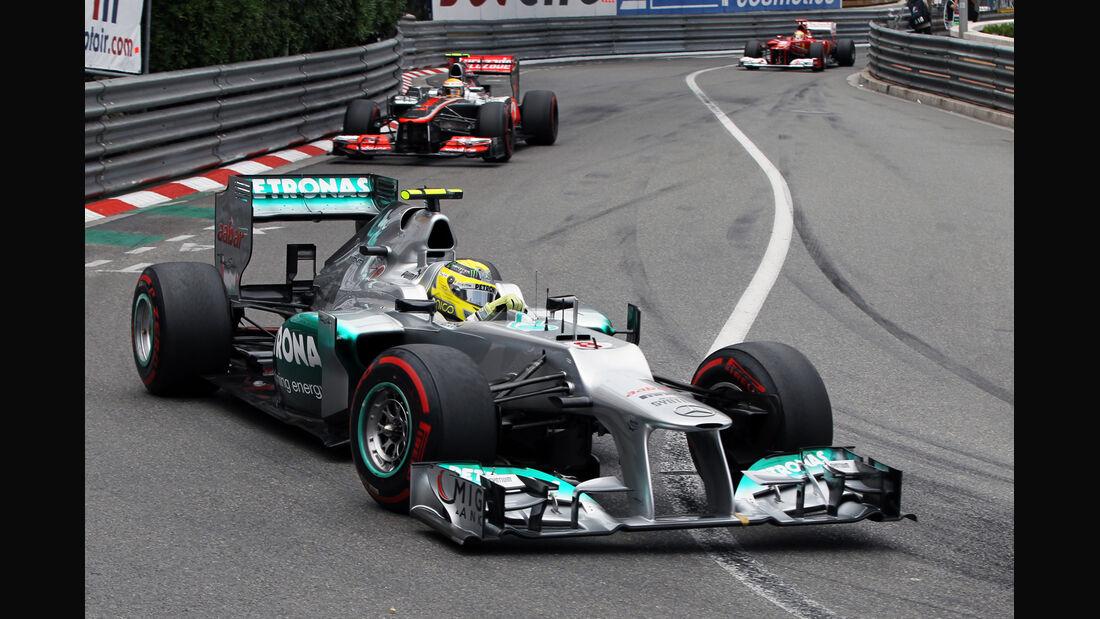 Nico Rosberg - GP Monaco 2012