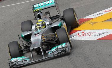 Nico Rosberg GP Monaco 2012