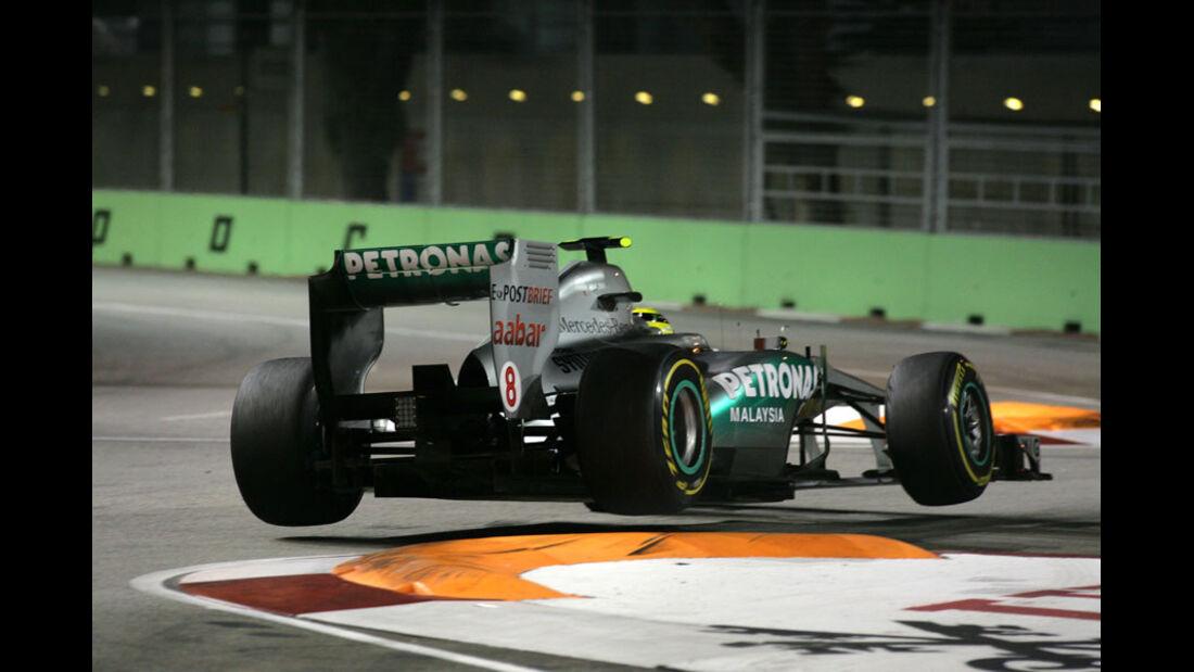 Nico Rosberg GP Singapur 2011