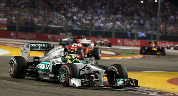 Nico Rosberg GP Singapur 2013