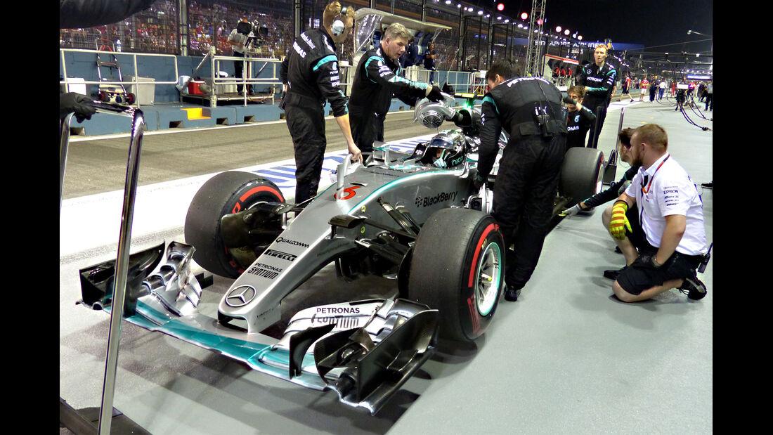 Nico Rosberg - GP Singapur 2015