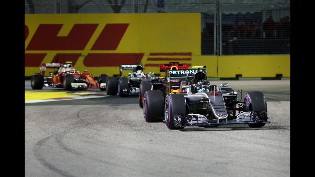 Nico Rosberg - GP Singapur 2016