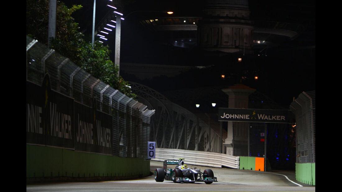 Nico Rosberg - GP Singapur - 24. September 2011