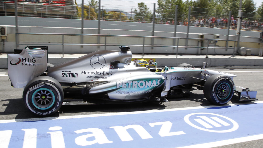 Nico Rosberg GP Spanien 2013
